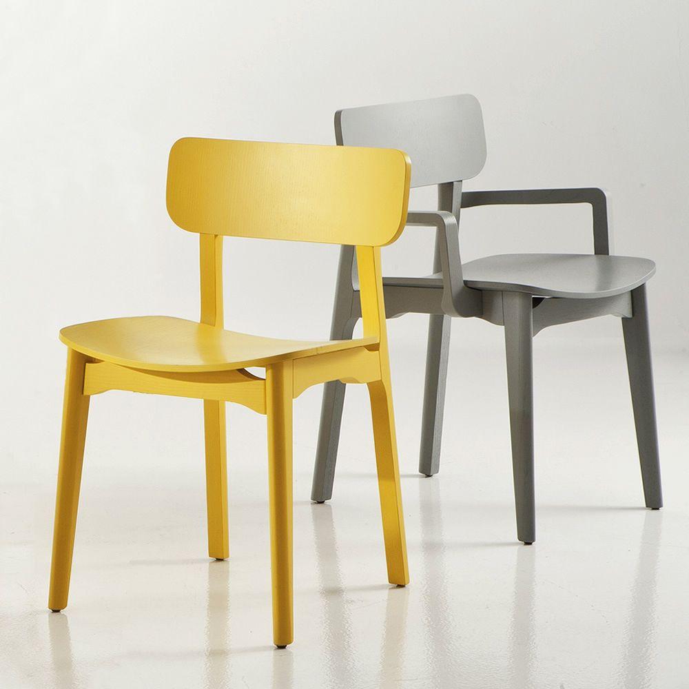 Cacao  Sedia di design ChairsMore in legno disponibile