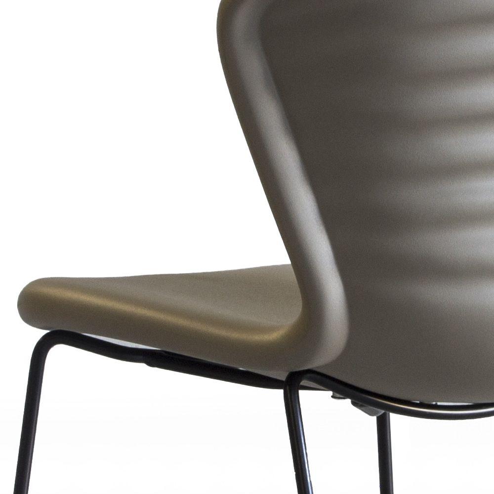 Marshmallow: Tonon metal chair, with polyurethane seat