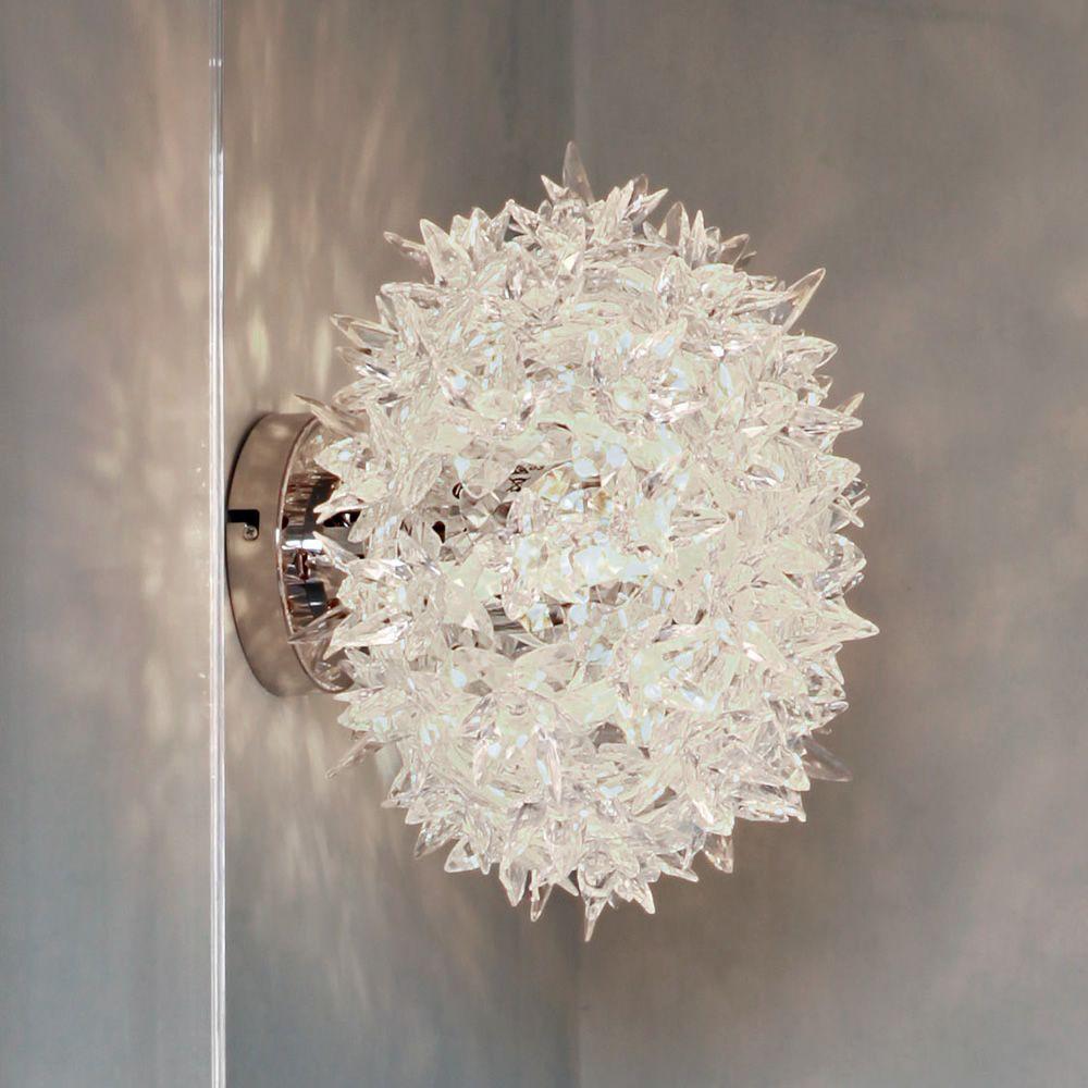 Bloom W  Lampada a soffitto Kartell in tecnopolimero in