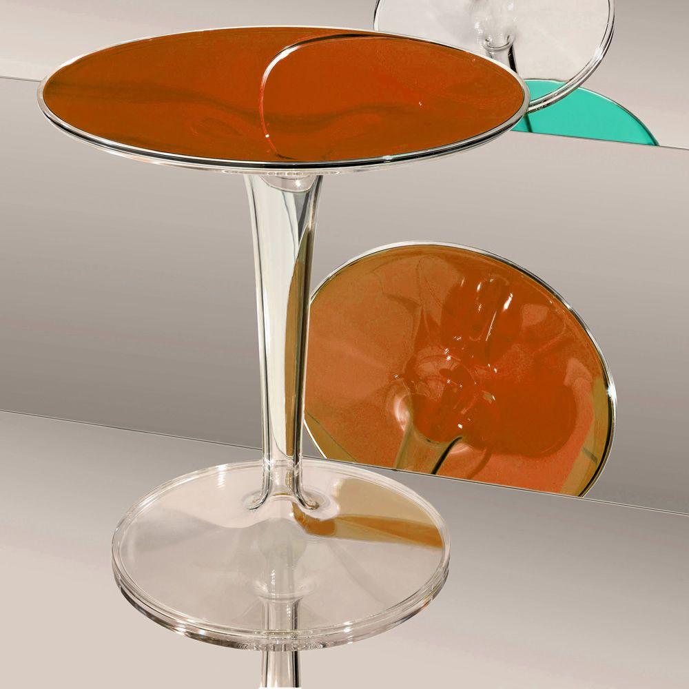 TipTop  Tavolino Kartell di design diametro 48 cm diversi colori anche per esterno  Sediarreda