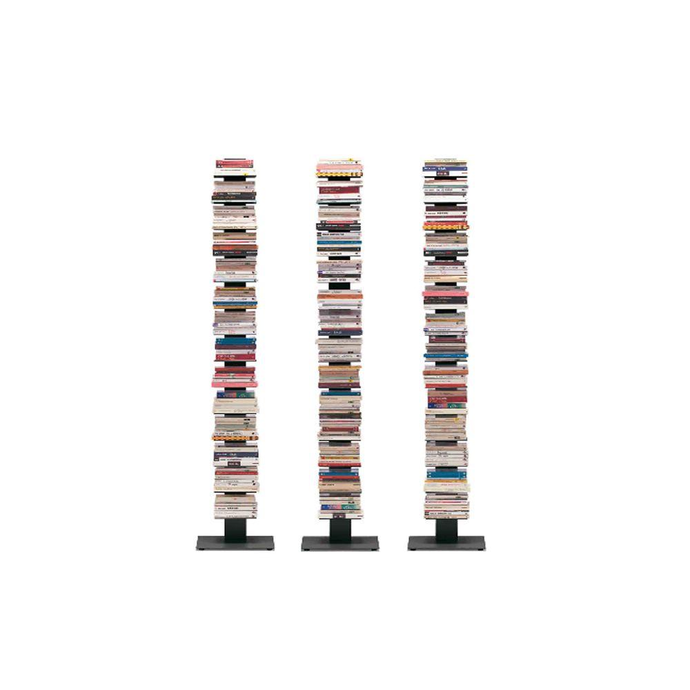Sapiens  Libreria moderna a colonna in metallo disponibile in diverse misure  Sediarreda