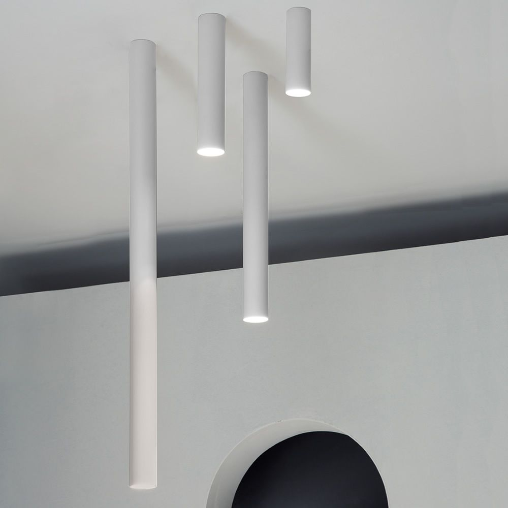 ATube  Designer ceiling lamp in metal LED available
