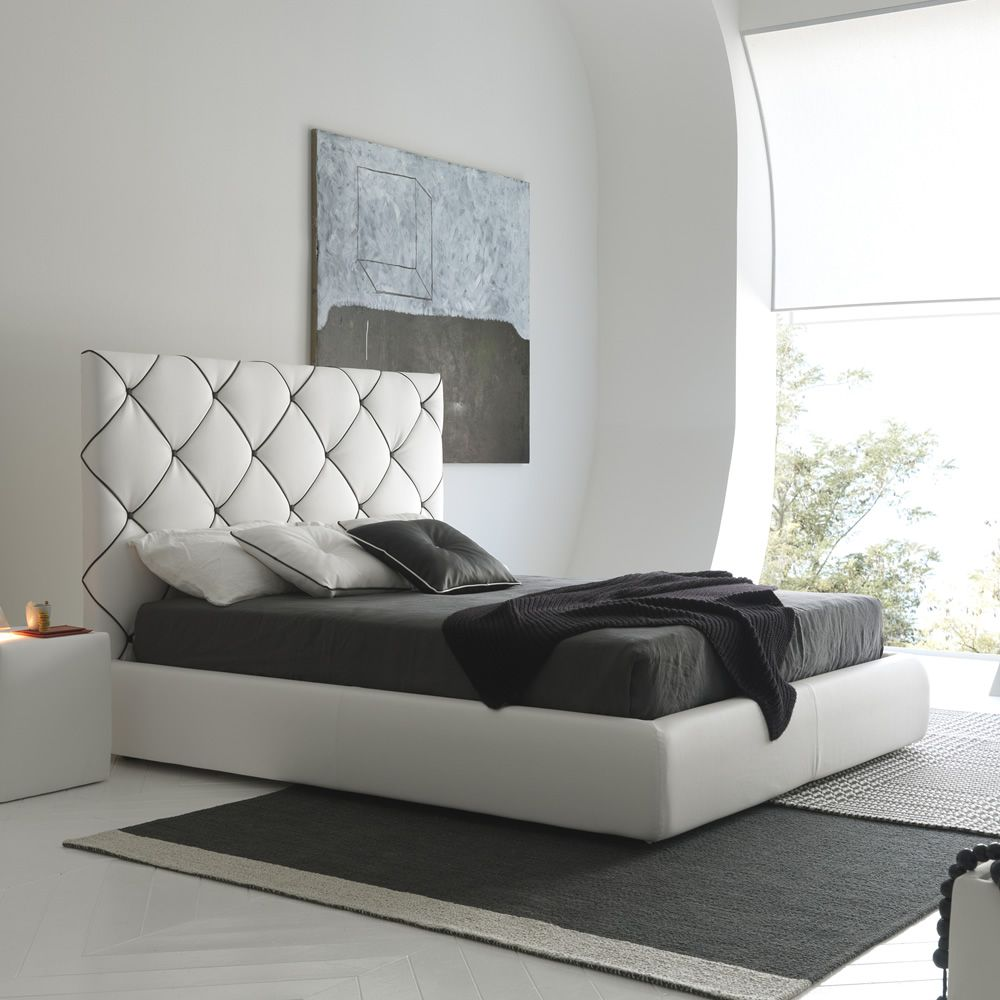 Dubai Padded double bed several coverings available