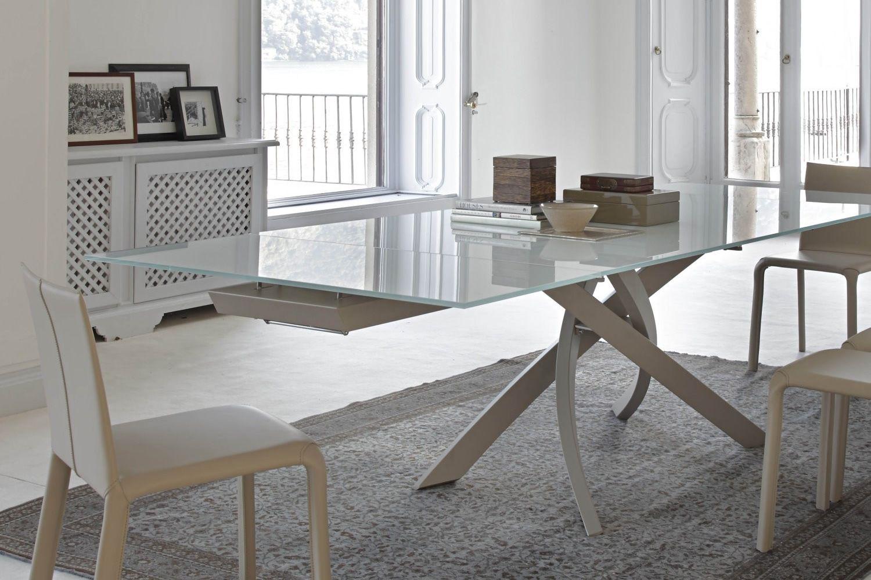 Artistico Glass Ext  Tavolo di design di Bontempi Casa