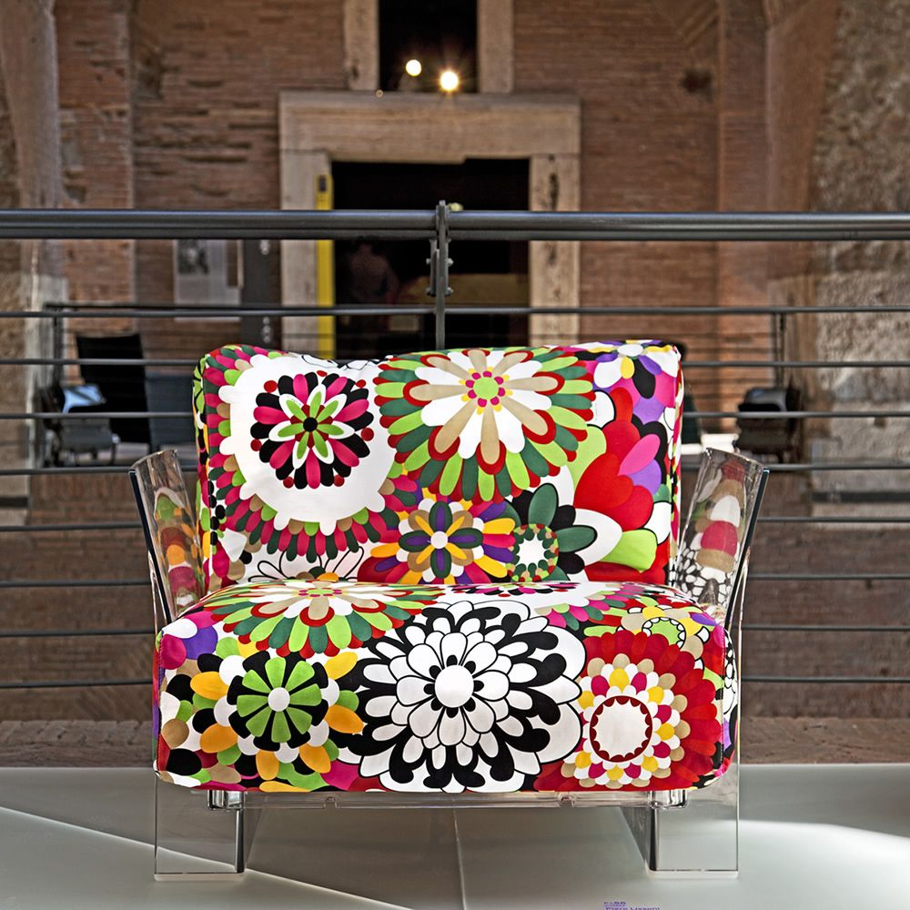 Pop Missoni Design armchair Kartell with polycarbonate