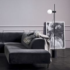 Bolia Outlet Sofa What Type Of Leather Is Best For Sofas Revolve Floor Led Lamp In Marble And Metal Sediarreda Com Photo Gallery
