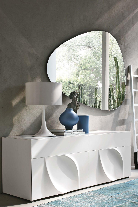 Stone 7529  Specchio sagomato Tonin Casa diverse misure disponibili  Sediarreda
