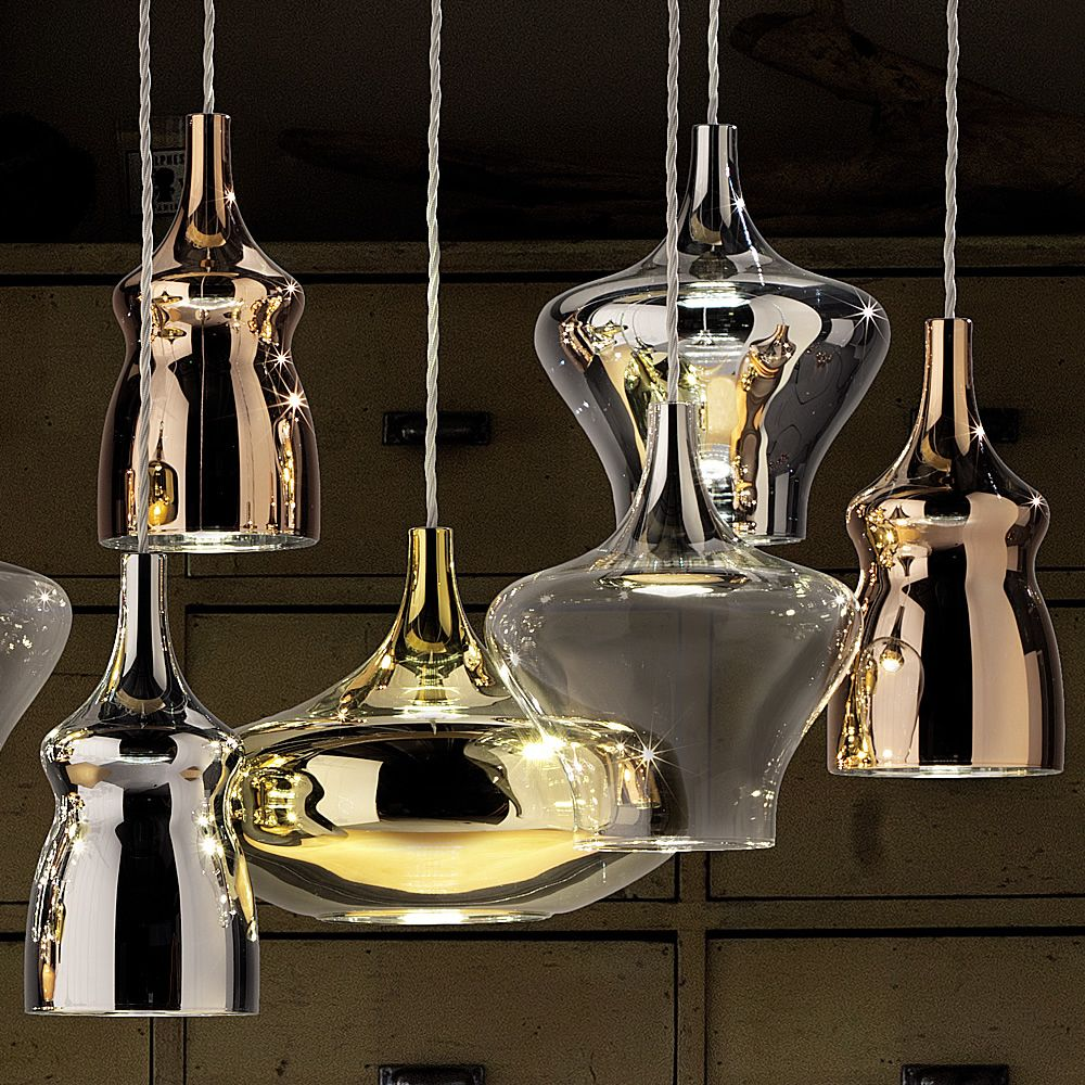 Nostalgia Lampe Design Suspension En Verre Souffl
