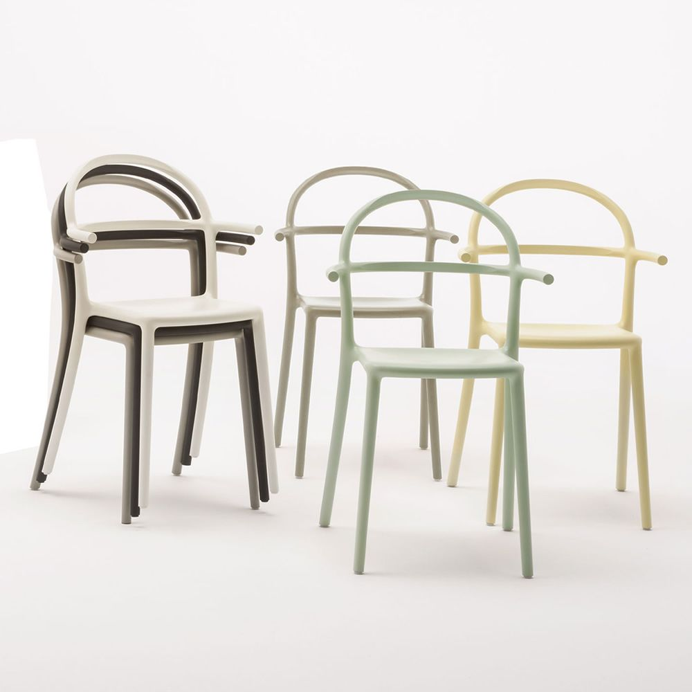 design chair kartell outdoor table and 6 chairs generic c in polyproylene stackable also armchairs for garden