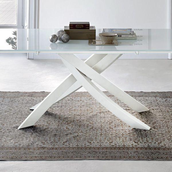 Artistico Glass  Tavolo di design di Bontempi Casa fisso