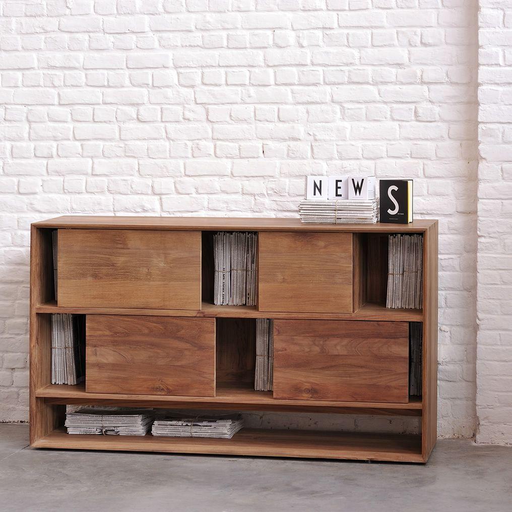 NordicR  Mobile soggiorno Ethnicraft in legno diverse misure e finiture disponibili  Sediarreda