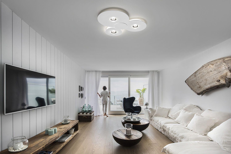 Bugia  Lampada da soffitto di design in metallo e