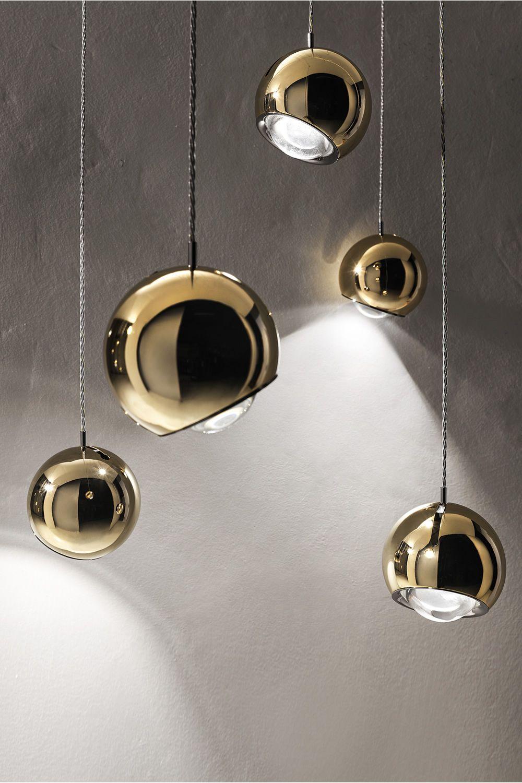 Spider  Lampada a sospensione di design in metallo LED