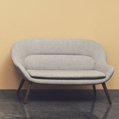 Bolia Outlet Sofa Luxury Recliner Philippa Two Seaters With Wooden Legs Covering In Fabric