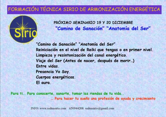 SIRIO 2 ANATOMIA DEL SER