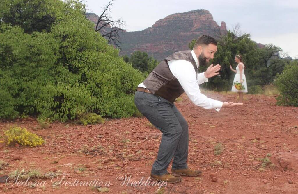 Jennifer Michael Sedona Wedding