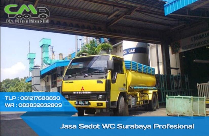 Harga Sedot WC Kecamatan Kenjeran Surabaya