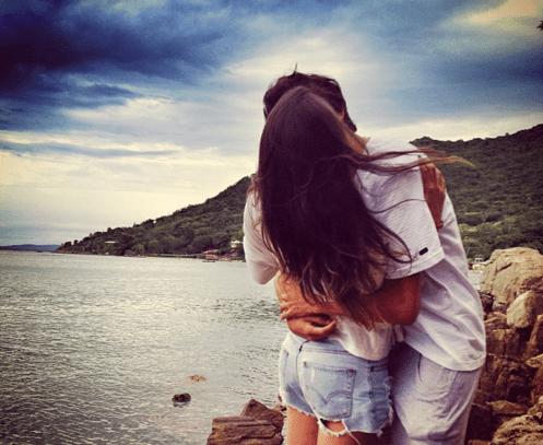 photo comment embrasser une fille