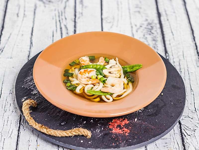Simple Udon Noodle Soup