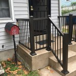 Front Porch Rail Installation