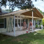 patio roof installation