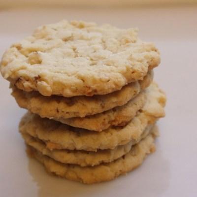 Crispy Crunchy Cookies