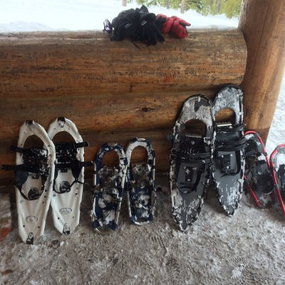 Snowshoeing near Bend, Oregon