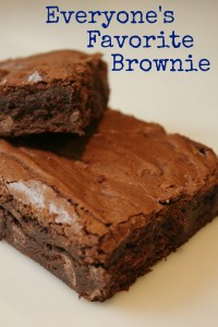 Everyone's Favorite Brownie's - Delicious Fudgey Chocolately Goodness