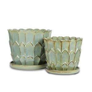 Home Depot Ceramic Artichoke Planter