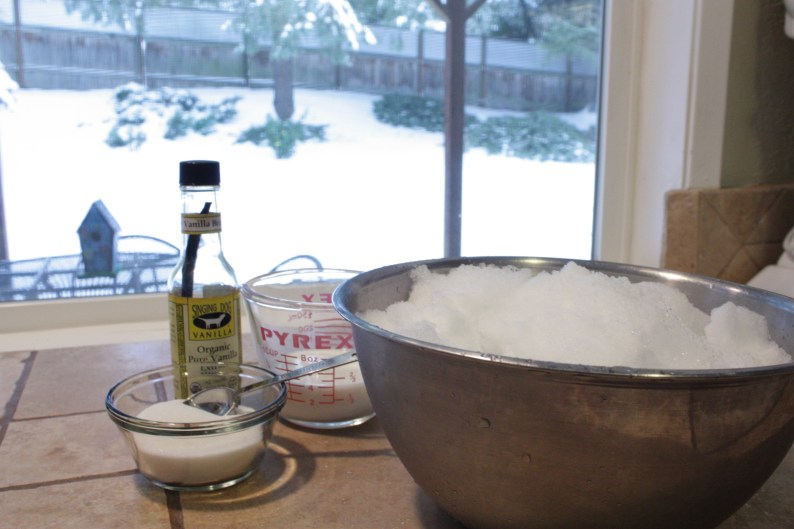 snow-cream-ingredients