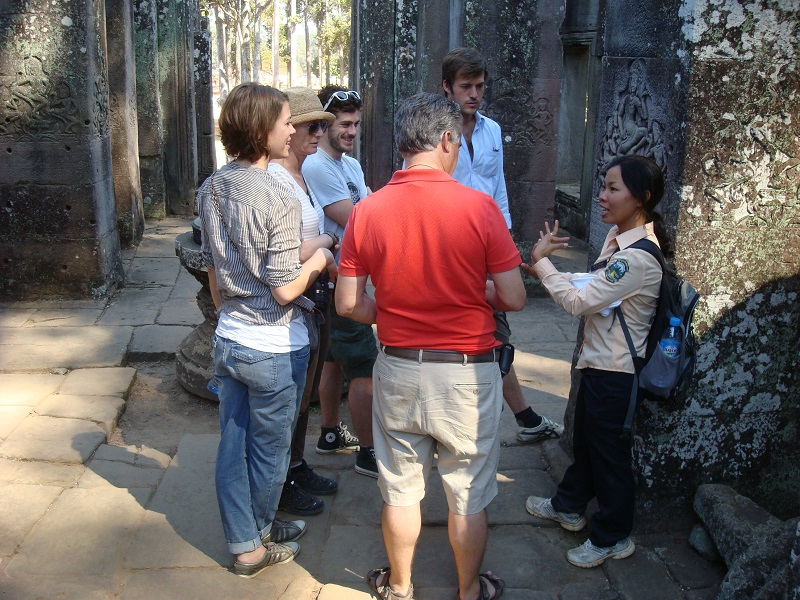 Angkor Wat Tour group tour in Cambodia