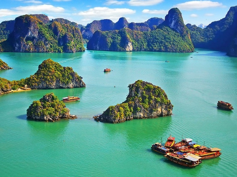 Group ha long bay tour