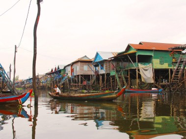 Cambodia Kampong Phluk floating village