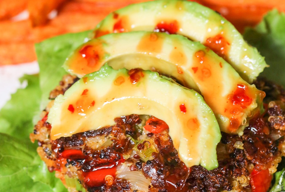 Easy Quinoa Burgers {Gluten Free, Vegan, Paleo}