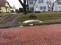 Old carpet curbside - Issue #3116920 - Canton, OH ...