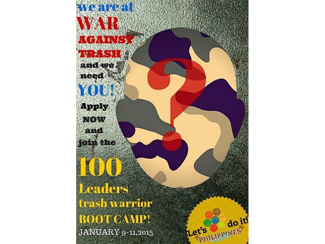 LET'S DO IT PHILIPPINES, TRASH WARRIOR LEADERSHIP BOOTCAMP