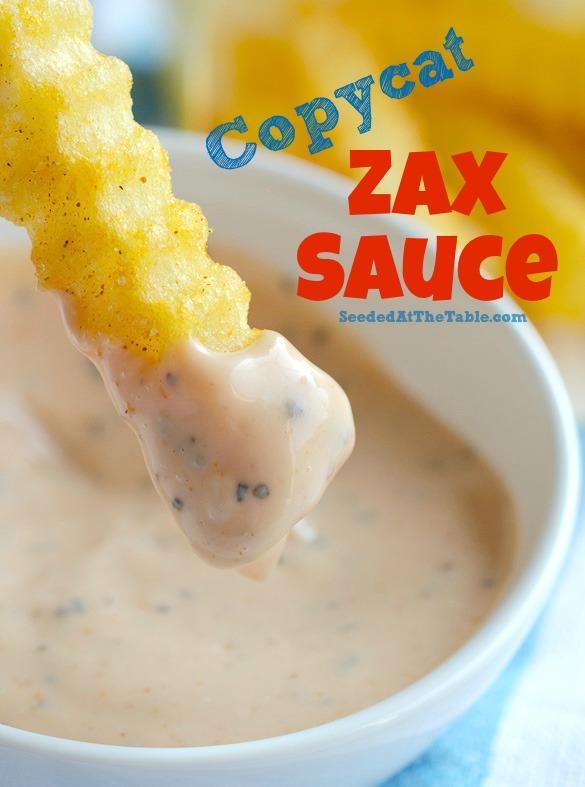 copycat zax sauce dipping