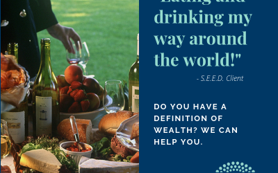 What is wealth – Eating and Drinking Around the World