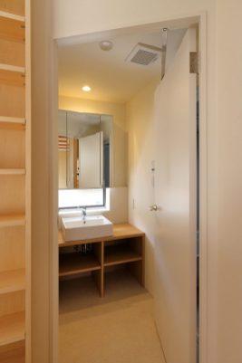 1階の洗面室