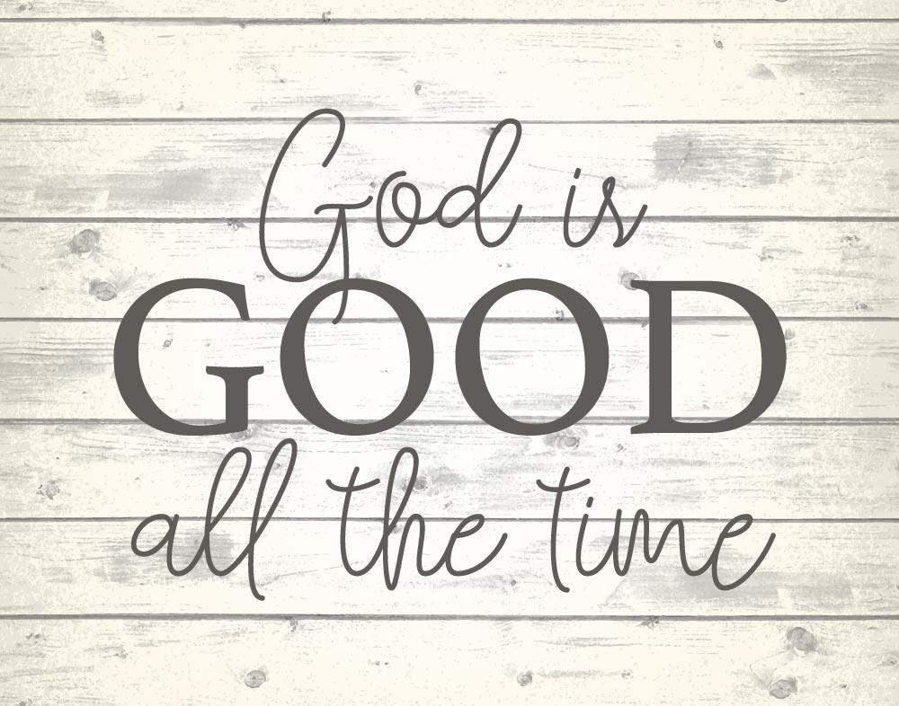 Image result for god is good