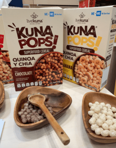 Quinoa at the Winter Fancy Food Show - Biodiversity