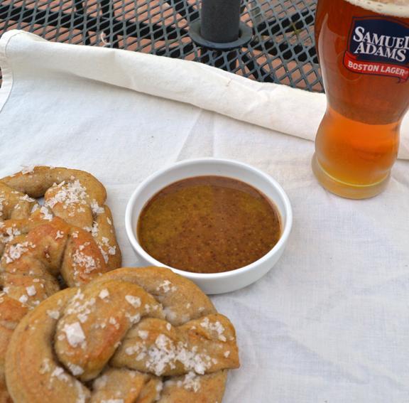 homemade beer mustard