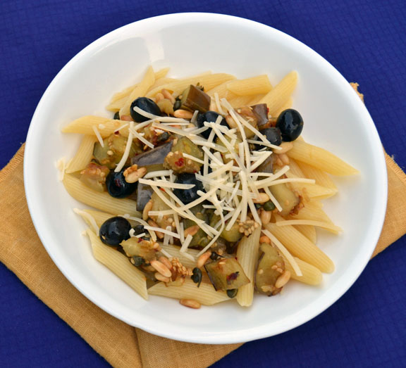 eggplant recipe with capers