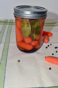lemony pickled carrots