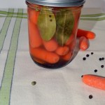 Lemony Pickled Carrots