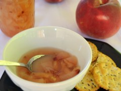 Small Batch White Peach Prosecco Jam
