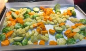 meatless sheet pan dinners