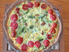 Broccoli Quiche: Comfort Food Casserole