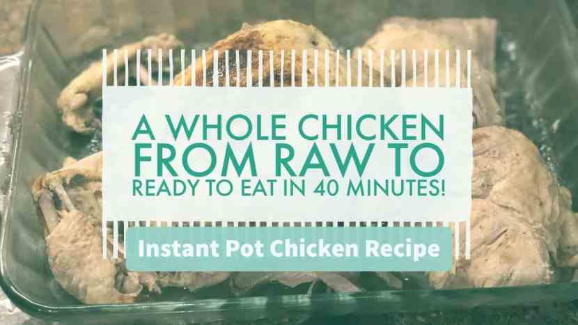 Instant Pot Chicken Recipe