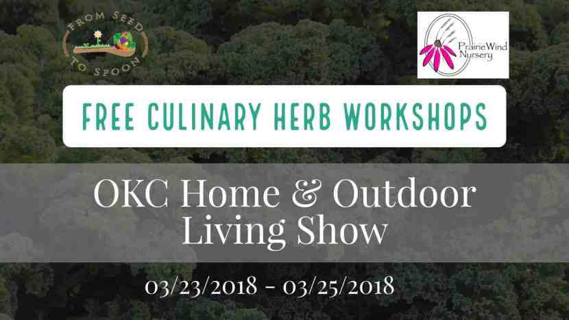 Culinary Herb Workshop – Seed to Spoon / Prairie Wind Nursery